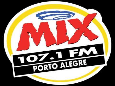 TRANSIÇÃO RÁDIO POP ROCK 107.1 PARA MIX FM PORTO ALEGRE.