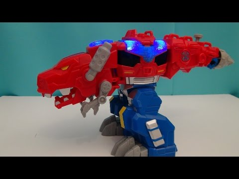 transformers-rescuebots-optimus-primal-video-toy-review