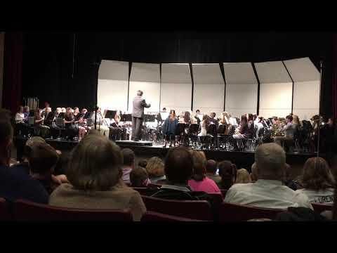 Byzantine Dances - 2019 East Central Middle School District Band