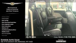 Used 2012 Chrysler Town & Country | Sunrise Auto Sales, Rosedale, NY