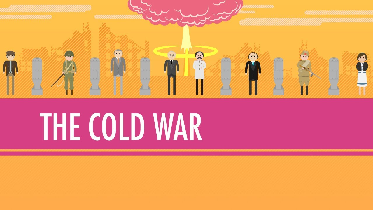 usa vs ussr fight the cold war crash course world history  the cold war crash course world history 39