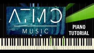 ATMO music - Vlny - Piano EASY Tutorial - Synthesia