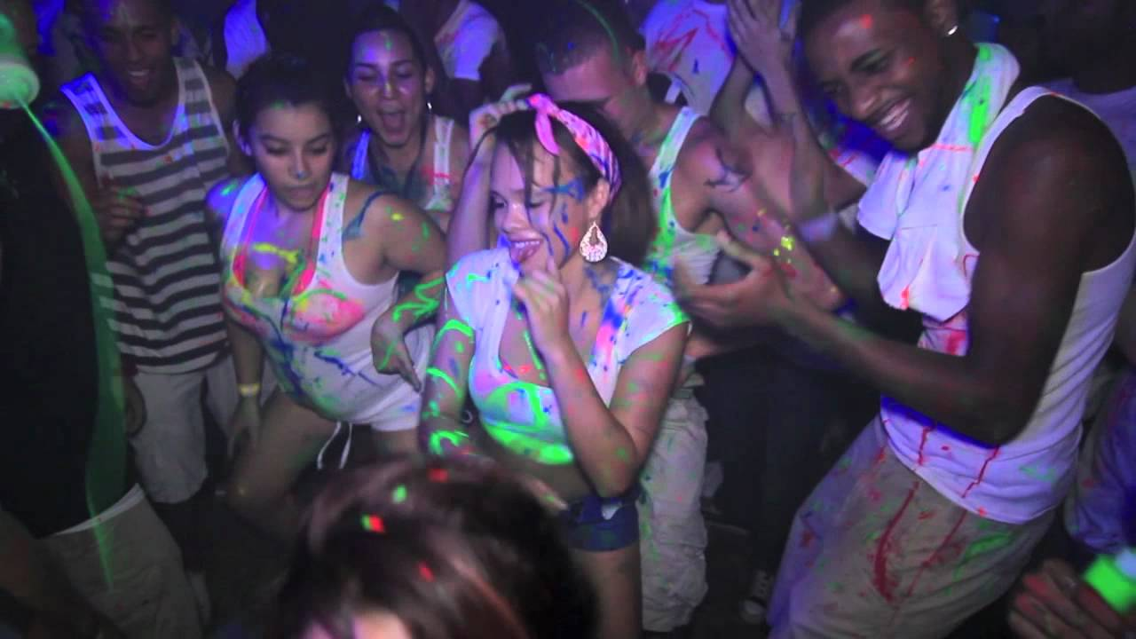 Reggaeton Paint Party 3 At 1 South Night Club Sundays