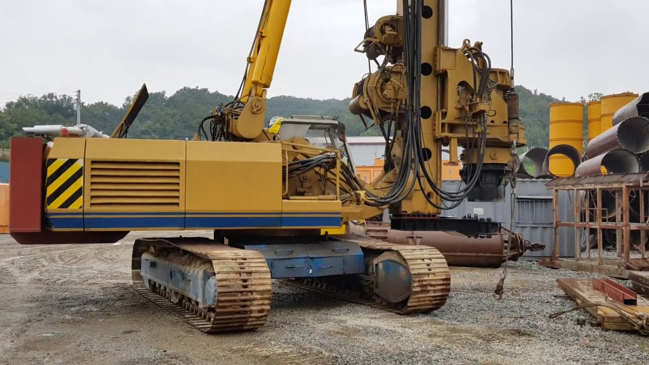 [ Winwin Used Machinery ] Used Rotary Drilling Rig BAUER BG 30 1993yr For  Sale