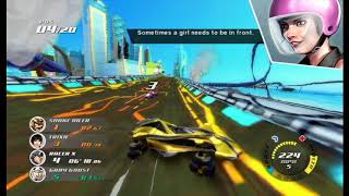 Speed Racer the VIdeogame - Hyper-Aggressive Death Race at Fuji (Aggressive Opponents Cheat)