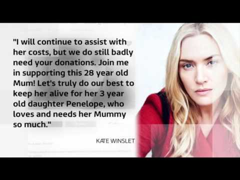 Join Kate Winslet - help Gemma Nuttall in her fight against metastatic ovarian cancer