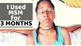 I Used MSM POWDER For 3 MONTHS and This Is What HAPPENED | Natural Hair