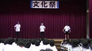 文化祭で友達が「やらないか」を踊ってみた