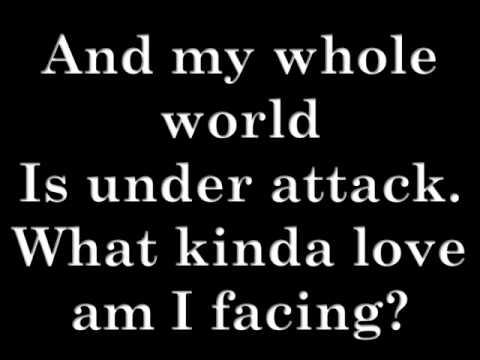 Will Young- Jealousy Lyrics on screen.