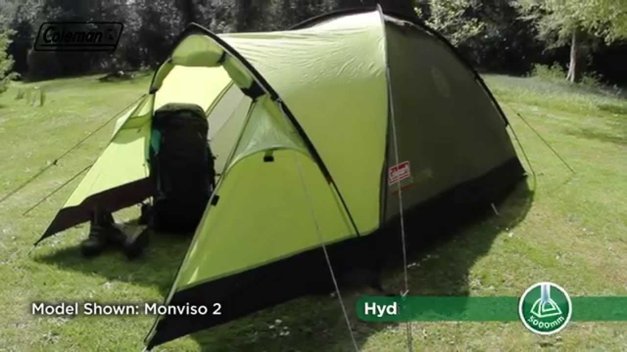 Coleman® Monviso 3 - Backpacking tent - YouTube