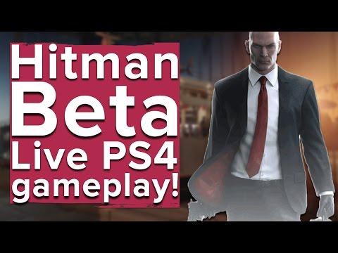 Hitman - Live PS4 beta gameplay