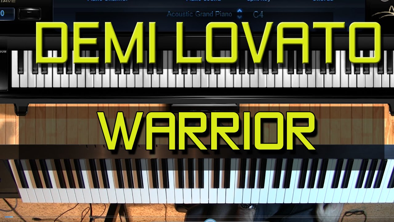 Piano tutorial how to play warrior by demi lovato youtube piano tutorial how to play warrior by demi lovato hexwebz Images