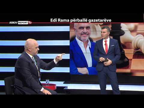 REPORT TV, REPOLITIX - EDI RAMA PERBALLE GAZETAREVE - PJESA E PARE