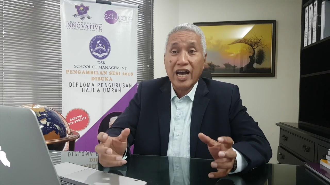 Diploma Pengurusan Haji Dan Umrah Youtube