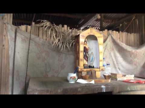 My old house and new house-Ramascora,  Maliana-Timor Leste