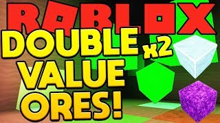 DOUBLE VALUE ORES - ROBLOX SPACE MINING SIMULATOR! #7
