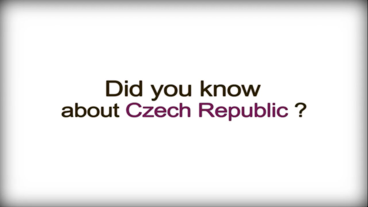 Interesting facts about the Czech Republic