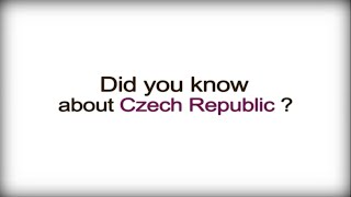 Did you know? - The Czech Republic - Czech Business Culture video