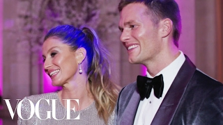 Tom Brady & Gisele Bündchen on Her