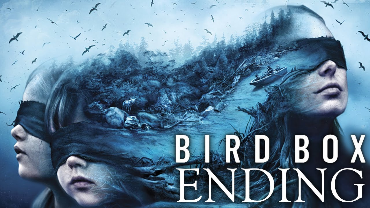 Bird Box Ending Explained Monsters True Meaning Analysis Youtube