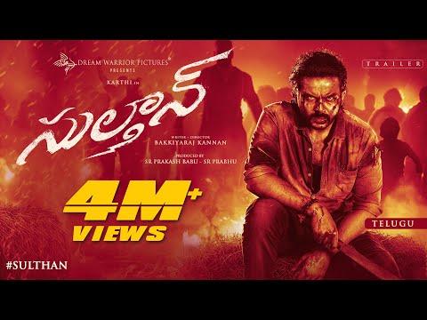 SULTHAN - Official Trailer (Telugu) | Karthi, Rashmika | Vivek - Mervin | Bakkiyaraj Kannan