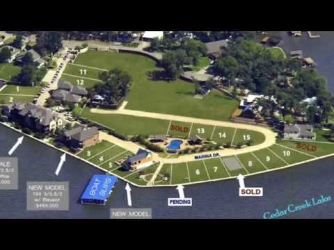 10 Lakefront Properties Available on Cedar Creek Lake, TX