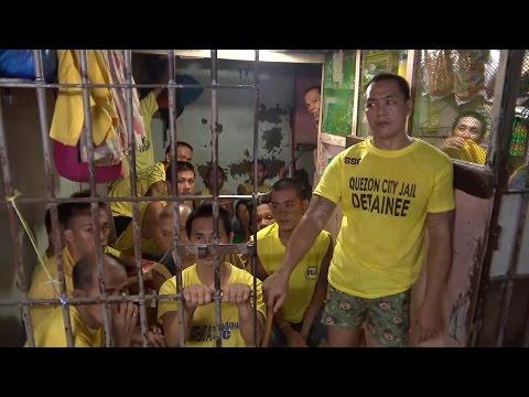 Manila prisons full during President's war on drugs