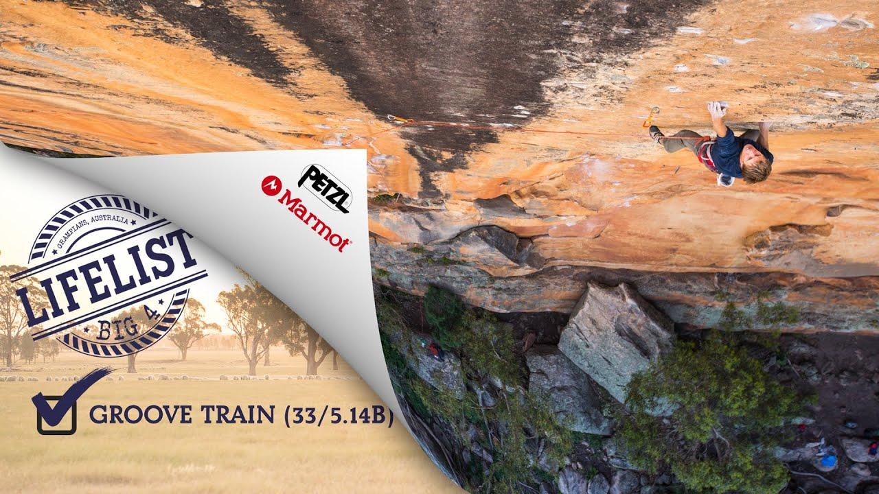 BIG 4 - Groove Train (33/5.14b) - Grampians, Australia