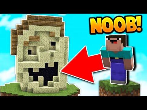 NOOB BUILDS UGLiEST BED DEFENSE! (Minecraft Bed Wars Trolling) - Видео из Майнкрафт (Minecraft)