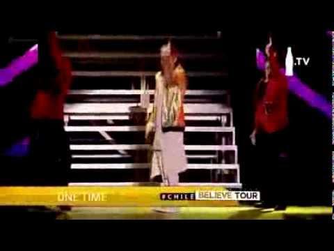 Justin Bieber Believe Tour Chile- One Time, Eenie Meenie & Somebody To Love