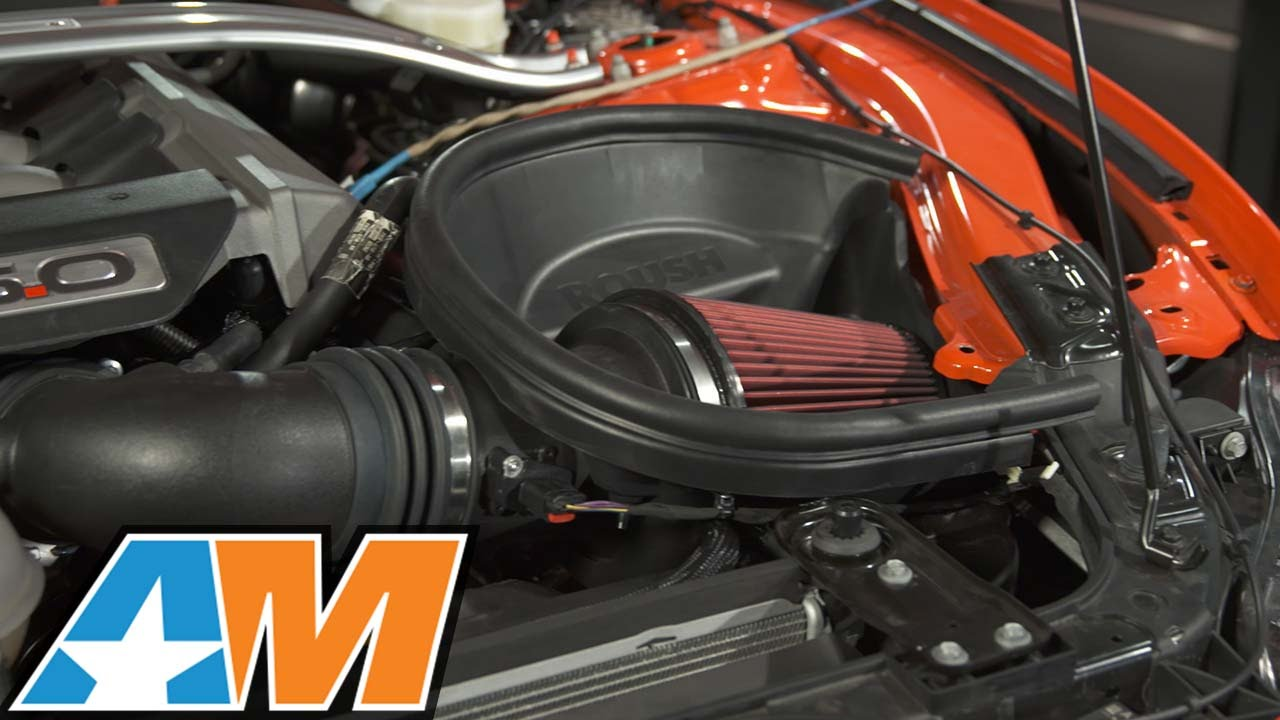 2015 2017 Mustang Roush Cold Air Kit Review Install Youtube
