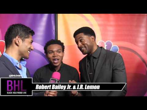J.R. Lemon & Robert Bailey Jr. (The Night Shift) At the 2016 NBC Universal Summer Press Tour