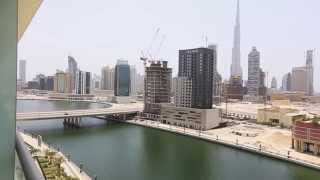 Full Lake and Burj Khalifa view 1 Bedroom Apartment in Windsor Manor, Business Bay