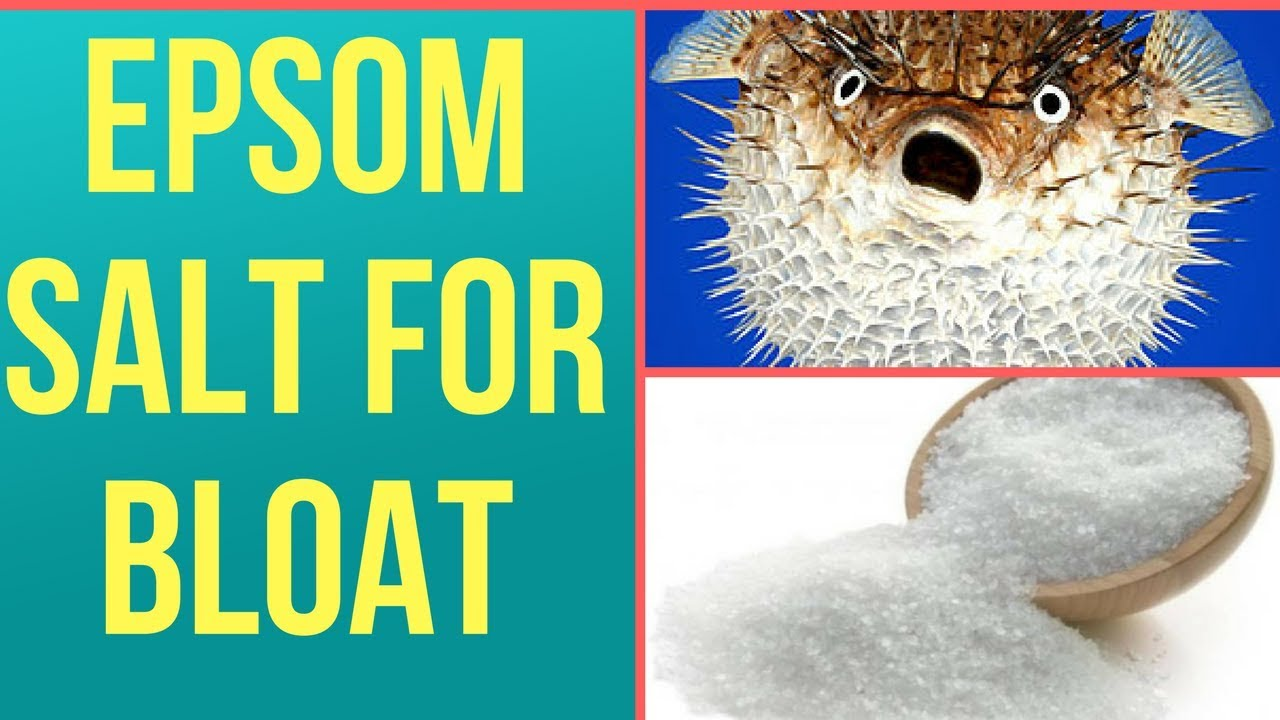 In Hindi Epsom Salt Treatment For Fish Bloat The