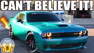 MY HELLCAT SHOOTS FLAMES!! THIS IS PURE INSANITY..