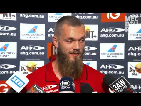 Media conference: Max Gawn