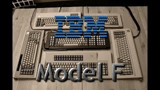 The Ultimate IBM Model F review (XT, AT, F104, F122, 5291, 4704 etc.) (capacitive buckling springs)