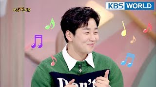 din din is so charming 😍 hello counselor sub engtai 20180305