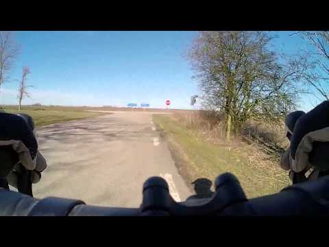 Cycling Southern Öland March 26th 2016