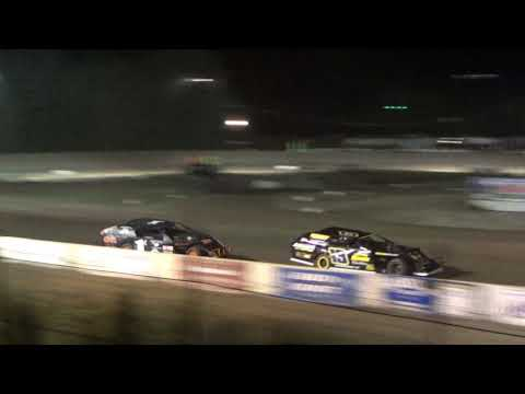 B MOD B-Feature  Race #1 at Mt. Pleasant Speedway, Michigan on 08-04-2017.