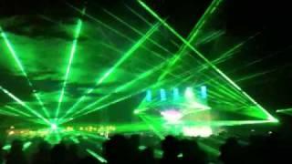 Mentos Fresh Camp - Finał - Sopot 21.08 - Pokaz Laserów