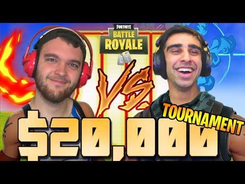 $20,000 FORTNITE FRIDAY TOURNAMENT - Vikkstar123 & NoahJ456 vs NEXT WINNERS BRACKET  (Round 5)