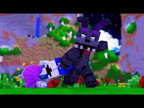 Minecraft FNAF: Shadow Bonnie kidnaps Ballora (Minecraft FNAF Roleplay)