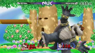 NUC18 - Vertigo (Beyonetta) vs Ragna (Ryu)- pools - SSB4