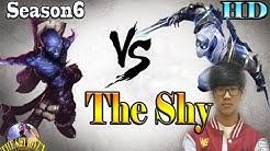 The Shy -Zed vs Ryre, lol korea ,season 6, path 5.25, game play (jan,16/2016)