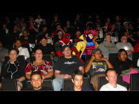 Deadpool and Gambit Watch X-Men Origins: Wolverine