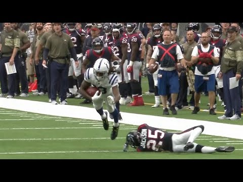 T.Y. Hilton Isn't Touched Down Then Scores an 80 Yard TD | Colts vs. Texans | NFL