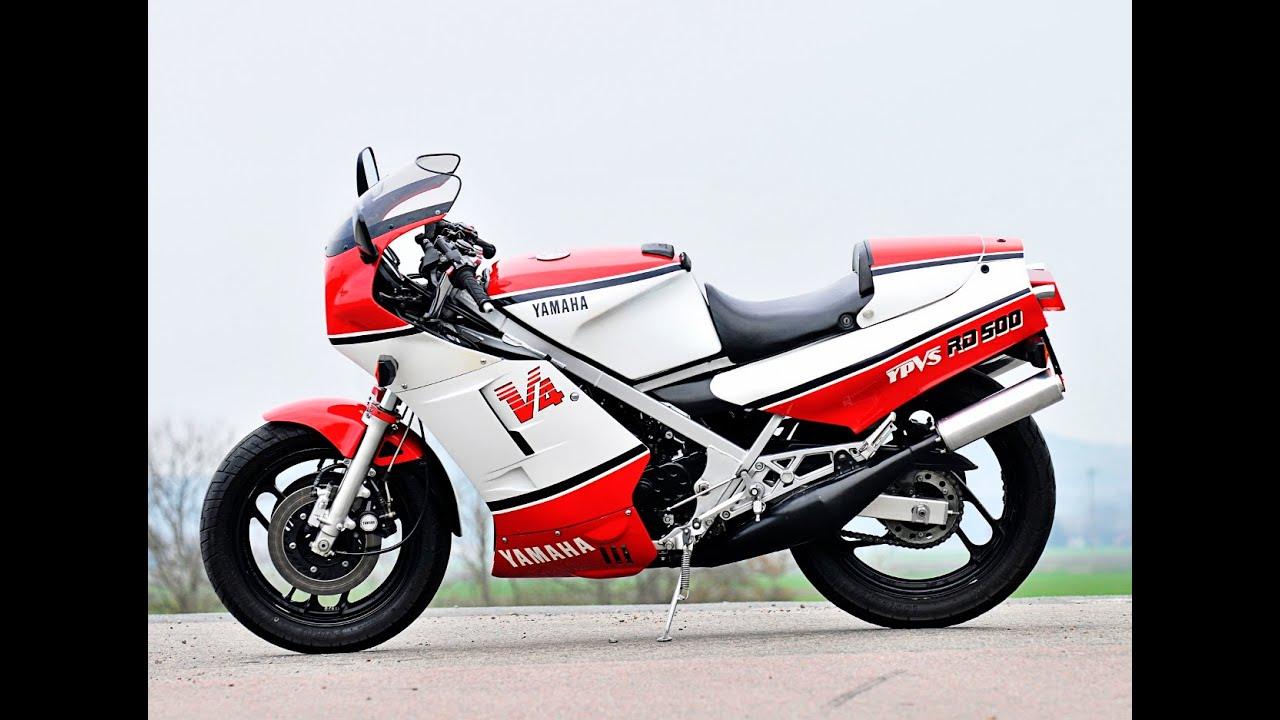 2016 yamaha rd 500 start up in the garage 2 youtube for Garage yamaha scooter