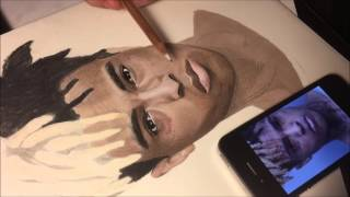 Drawing XXXtentacion ( Timelapse Drawing )