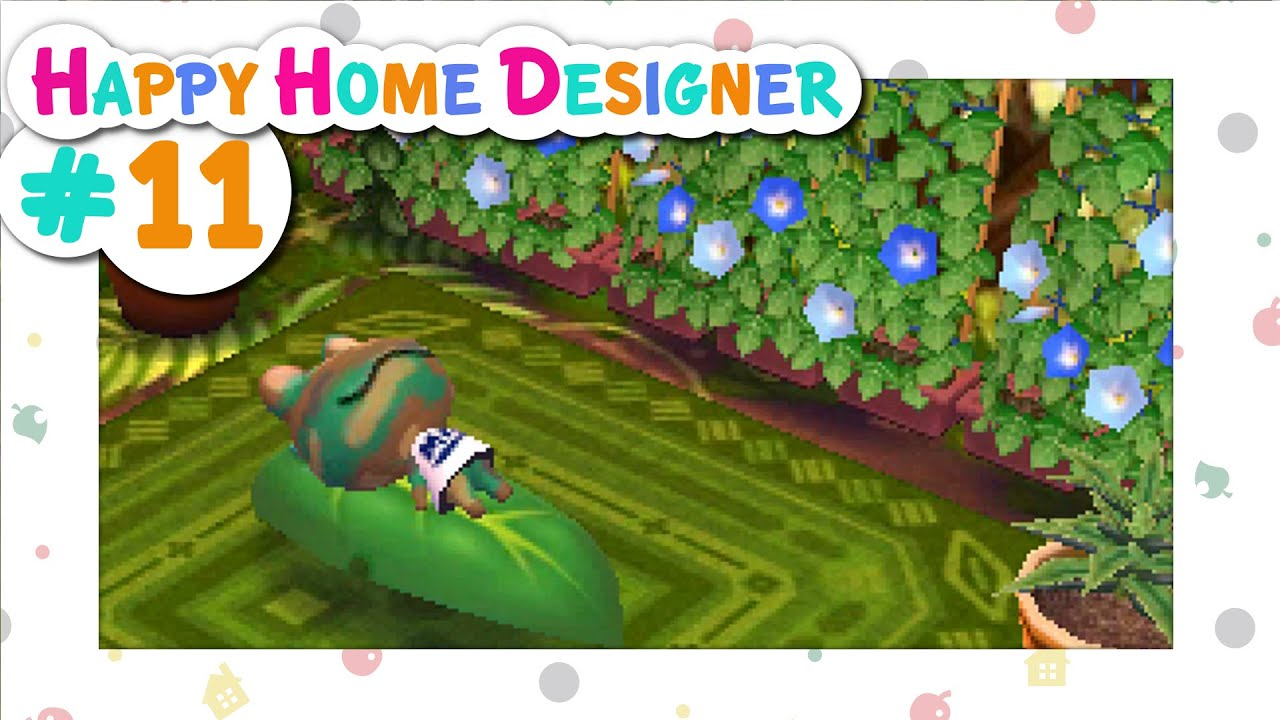Animal Crossing: Happy Home Designer :: # 11 - At One With Nature! - YouTube